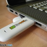 Der Klarmobil Surfstick am Notebook