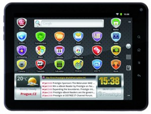 Prestigio 5080B Tablet PC mit Surfstick Liste