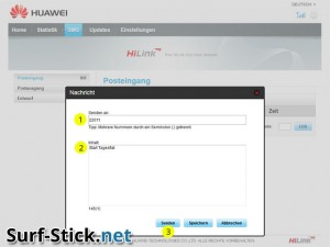 HiLink neue SMS Tagesflat
